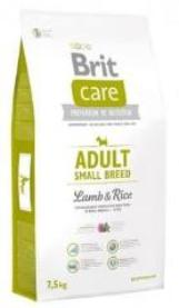Brit Care Adult Small Breed для собак мелких пород, ягненок 1кг (развес)